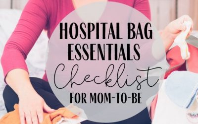 Hospital Bag Essentials Checklist for moms-to-be
