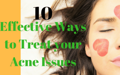 Effective Ways To Treat Your Acne Problems