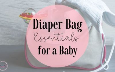 Baby Diaper bag – what to pack in a diaper bag