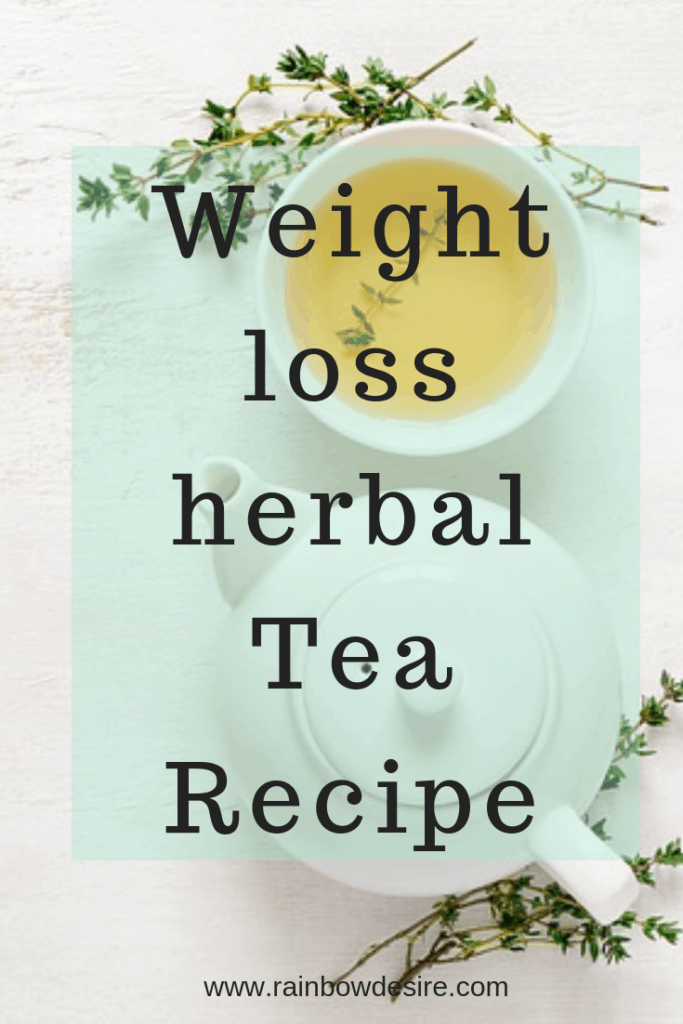 Weight loss herbal Tea Recipe