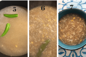 Step by step soup recipe