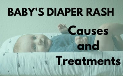 Baby Diaper Rash – What are the causes and effective ways to treat diaper rash