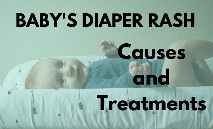 Baby's diaper rash - causes and treatment