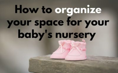 Tips and ideas on how to organize small space for baby's stuff