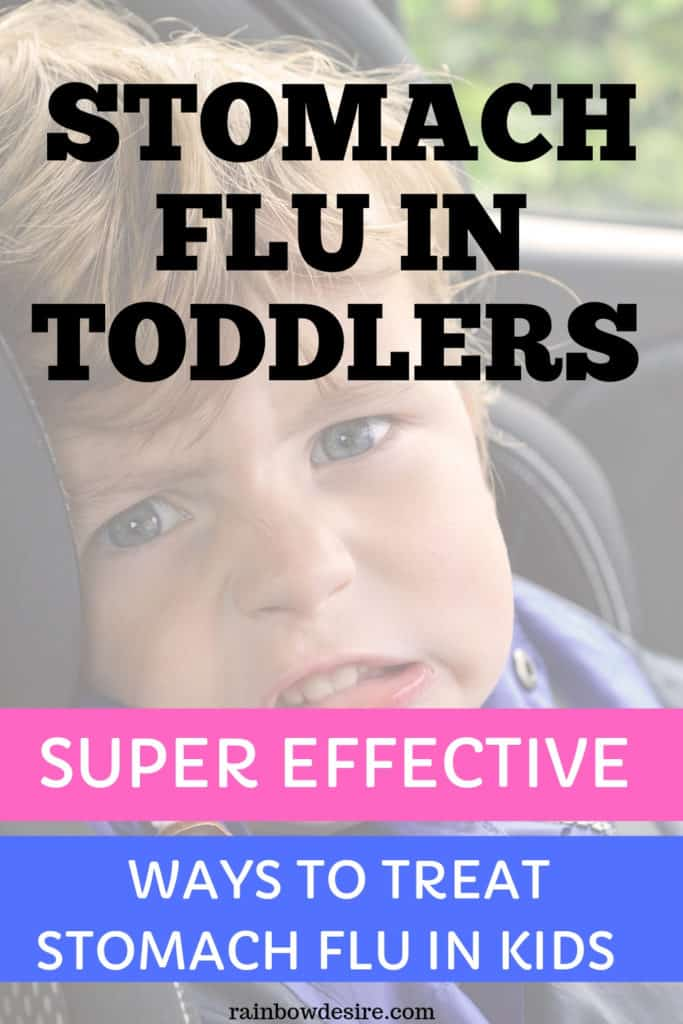 how to treat Stomach flu in toddlers
