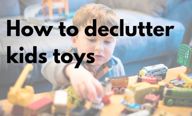 How to declutter kids' toys