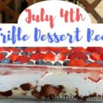 July 4th trifle dessert recipe