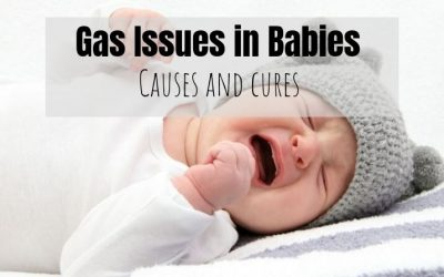 Gas issues in babies – Effective ways to help relieve gas