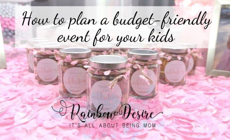 how to plan a budget-friendly event