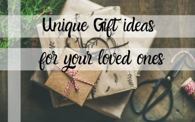Unique Gift Ideas for your loved ones this Christmas