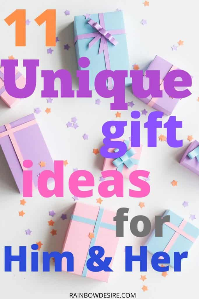 Gift ideas for him and her