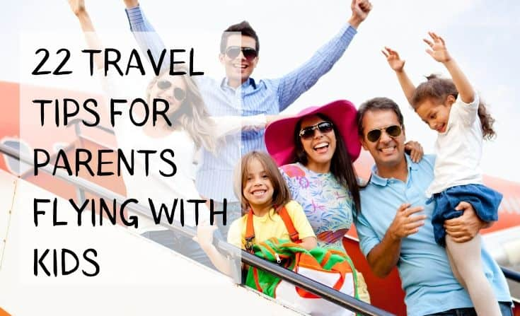 Simple tips for Parents air-traveling with kids for the first time.