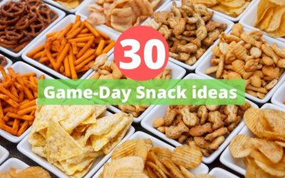 30 Superbowl or Game-day snack ideas
