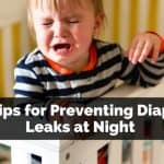 Tips for preventing Diaper leaks at night