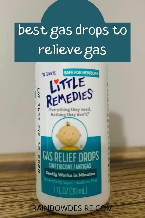 Gas drops for babies