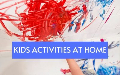 Kids Activities you can do at home for Toddlers and Preschoolers