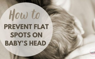 Flat Head Syndrome in babies – How to identify flat spots on baby's head