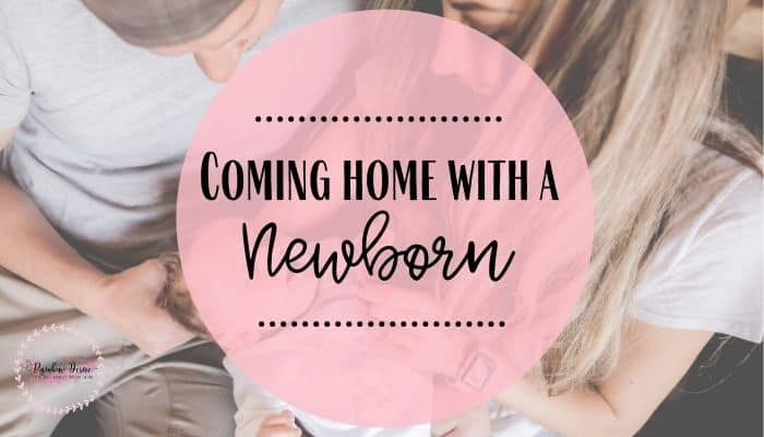 Coming home with a newborn – what to do now