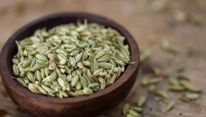 Fennel seeds to prevent gas in babies and moms